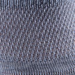 Chaussettes antidérapantes Pilates Gym douce gris