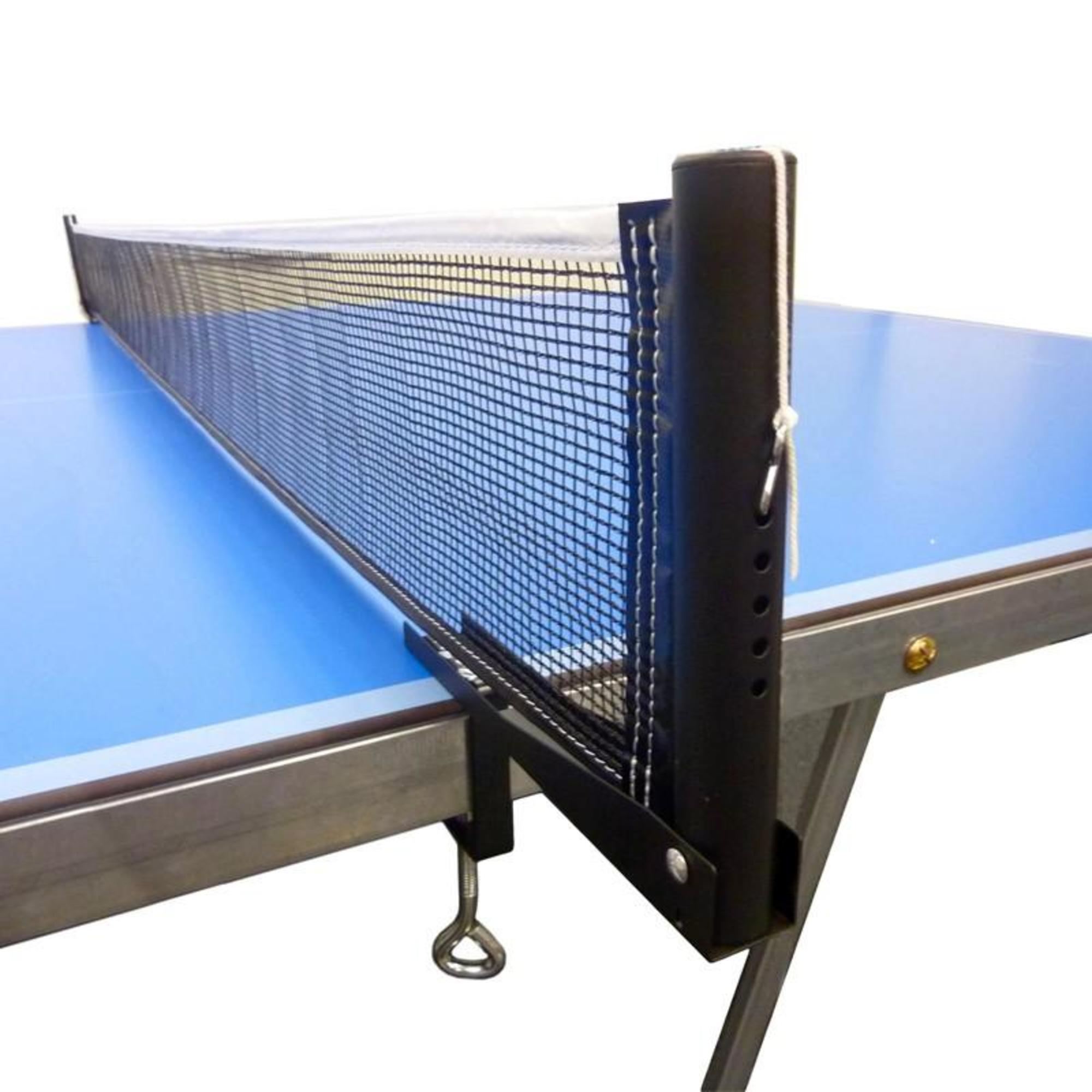 kit de tennis de table poteaux filet loisir noir artengo. Black Bedroom Furniture Sets. Home Design Ideas