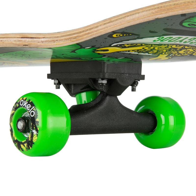 Skate enfant PLAY120 DOG vert