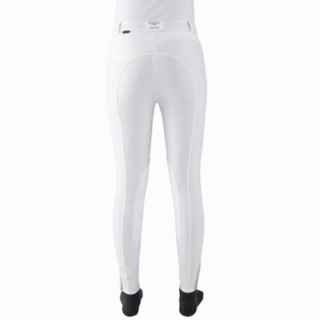 Riding Women's Horse Riding Show Jodhpurs - White