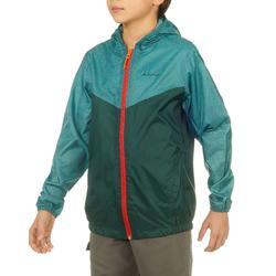 Jongens regenjack voor wandelen Hike 100 - 808522
