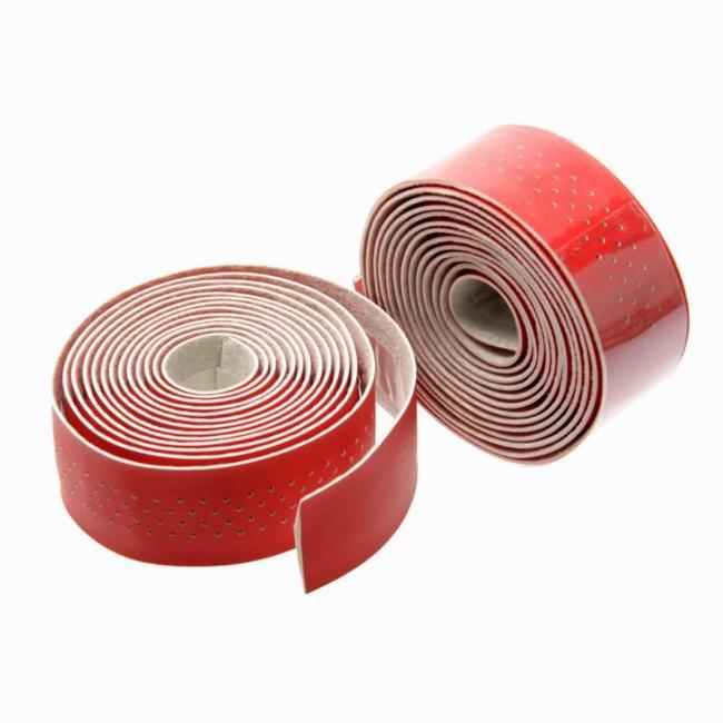 500 Microfibre Handlebar Tape - Red