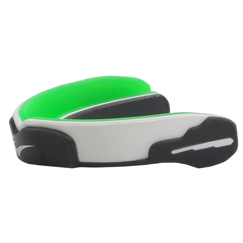 HEADGEAR AND MOUTHGUARD - Evergel Single Mouth Guard EVERLAST - GREEN