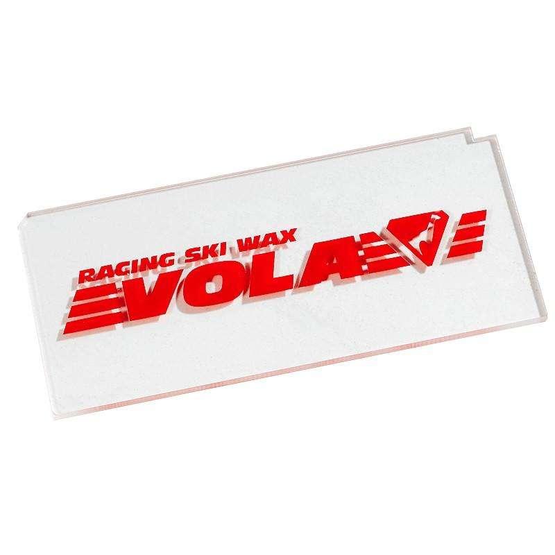 SKI/ SNOWBOARD WAX OR TOOLS Skiing - Vola 3 mm plexi scraper VOLA - Ski Accessories