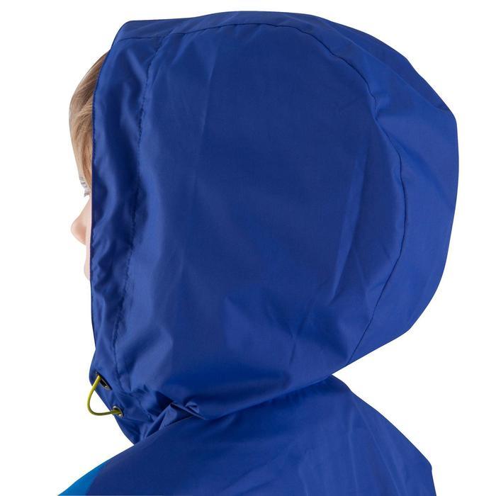 Veste imperméable de football enfant T500 bleu - 809175