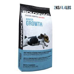 Pienso Perro Caza Solognac Cachorro Alimentación Junior Growth 2 kg