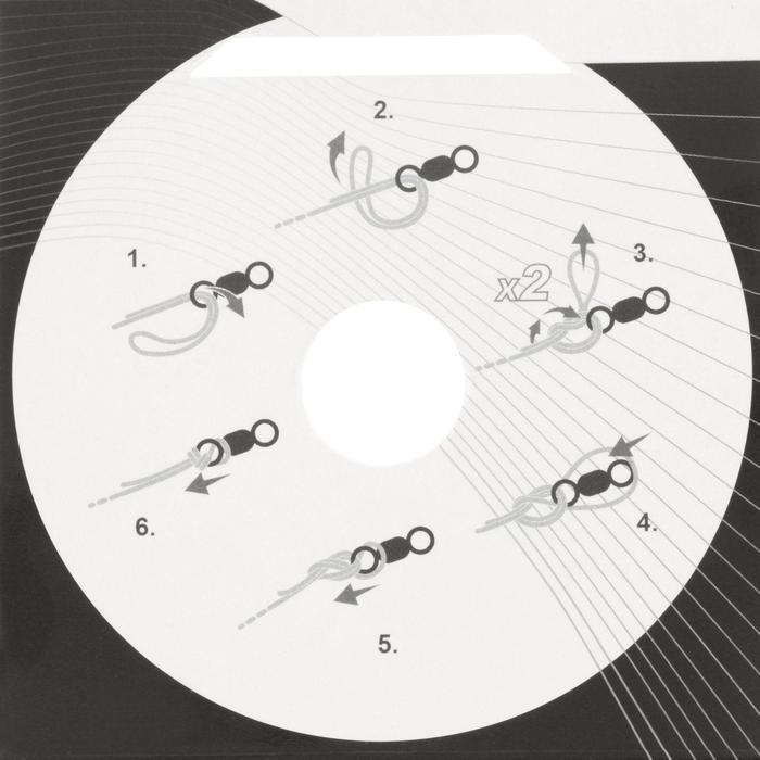 FIL DE PÊCHE LINE ABRASION WHITE 1000 M - 809499