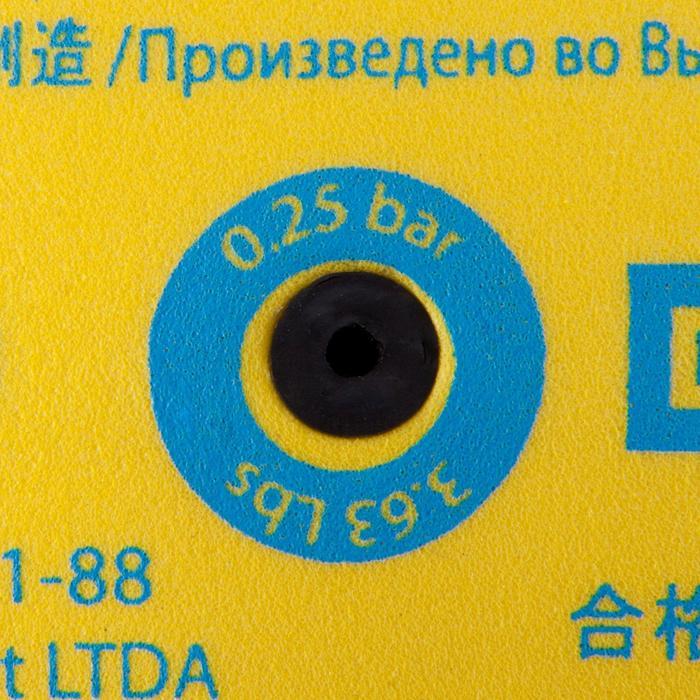 Ballon de volley-ball Wizzy 260-280g blanc et bleu à partir de 15 ans - 809603