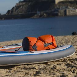 Wasserfeste Tasche Seesack 30 l orange