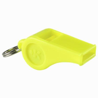 Pito de plástico amarillo