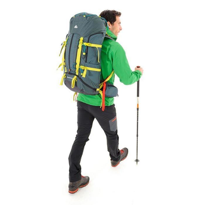 Mochila de Montaña y Trekking Forclaz Easyfit 70 Litros Hombre Azul
