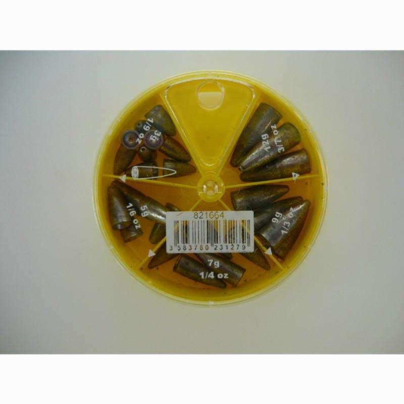TACKEL MJUKBETEN Fiske - Ask sänken för texanmontering CAPERLAN - Krokar och Småplock