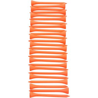 Tee bois 69MM X25 Orange
