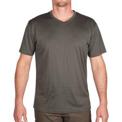 T-shirt manches courtes respirant chasse 100 vert