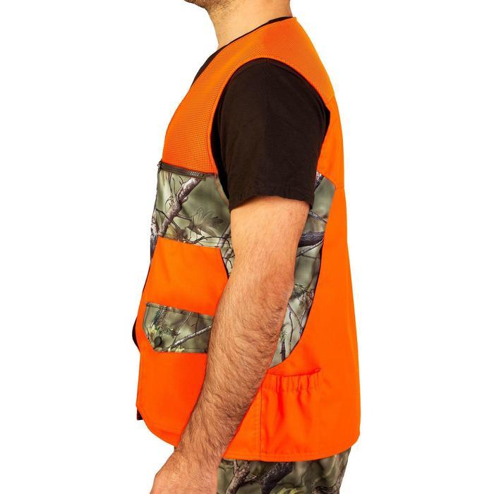 Vest Renfort 500 voor de jacht fluo camo - 810779
