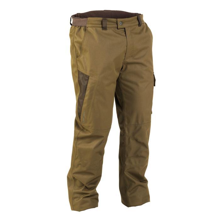 Warme waterdichte broek voor de jacht 500 groen