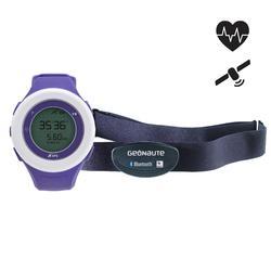 Montre GPS cardiofréquencemètre ONMOVE 200 connectée bleue