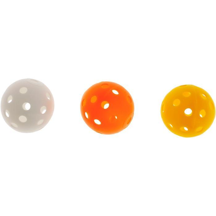 Geperforeerde golfbal 6 stuks