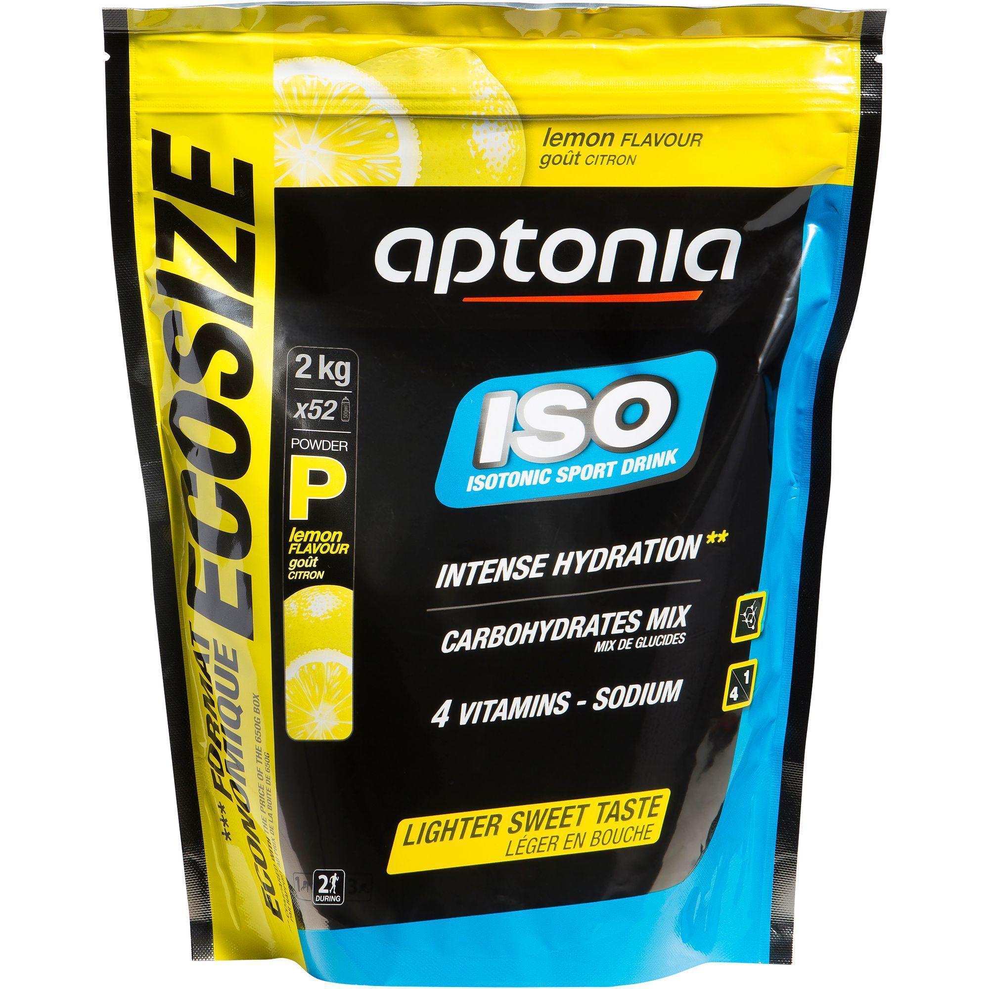 Iso-Getränkepulver Zitrone 2 kg Aptonia - DECATHLON