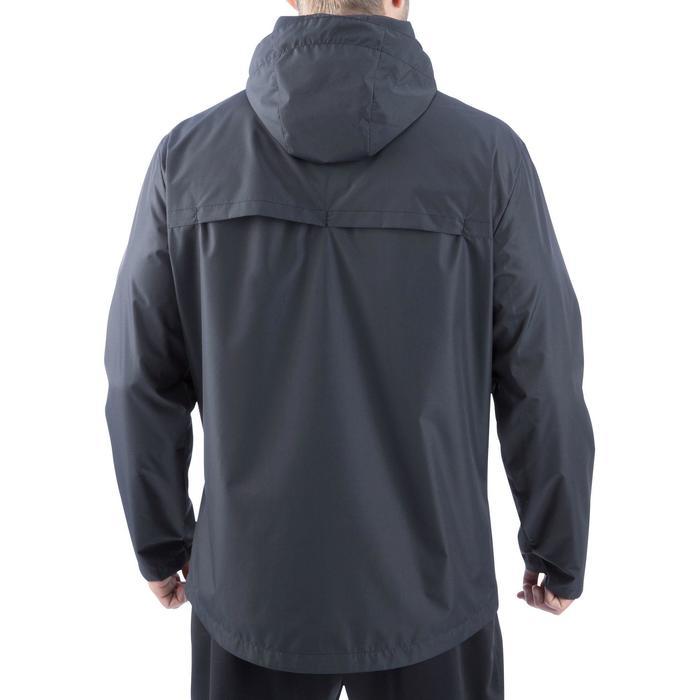 Veste pluie imperméable de football adulte T500 noire - 811596