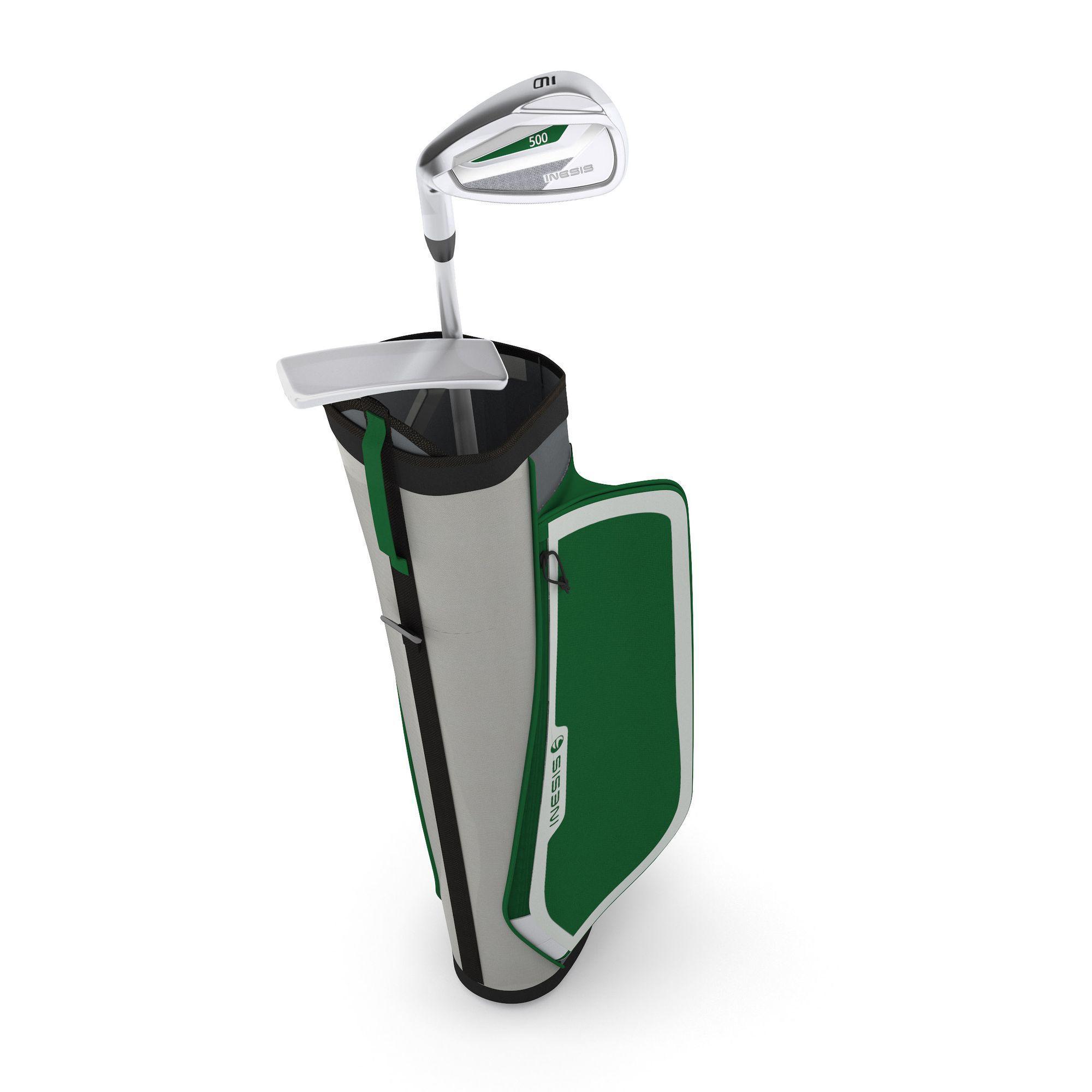 kit de golf enfant 5 7 ans gaucher 500 inesis golf. Black Bedroom Furniture Sets. Home Design Ideas