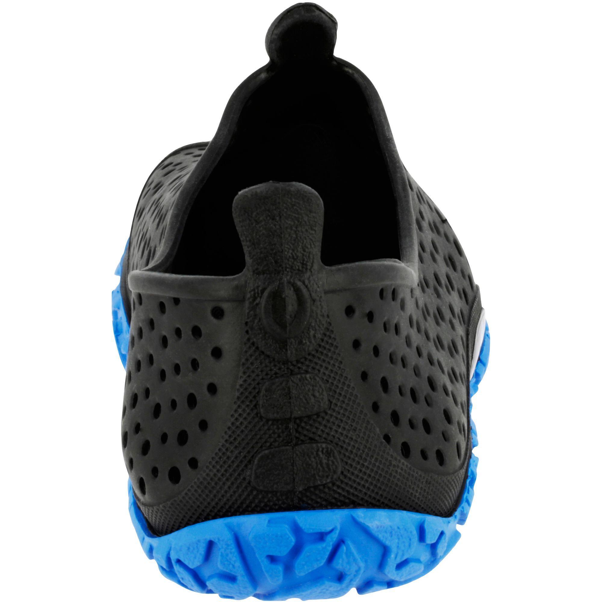 Chausson aquagym aquaforme AQUADOTS noir bleu