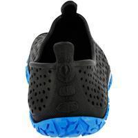 Zapatos acuáticos para aquagym aquafitness AQUADOTS negro azul