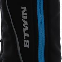 500 Women's Bibless Cycling Tights - Black/Blue