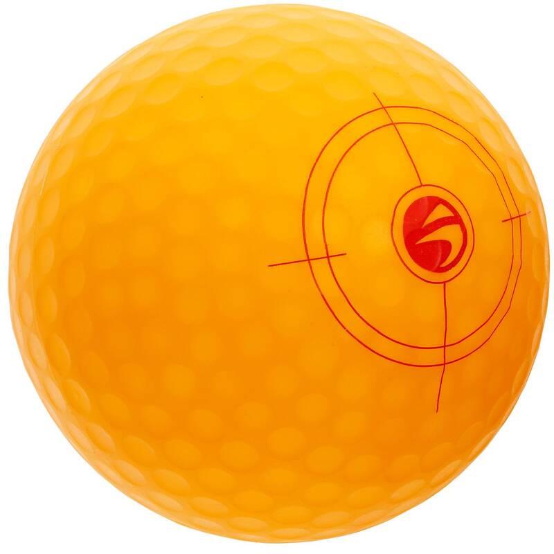 DĚTSKÉ GLFOVÉ VYBAVENÍ Golf - NAFUKOVACÍ GOLFOVÝ MÍČEK 500 INESIS - Míčky a příslušenství
