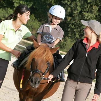 Bottes équitation enfant SCHOOLING BABY noir - 812533