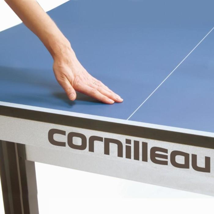TABLE DE TENNIS DE TABLE EN CLUB 540 INDOOR ITTF BLEUE - 812616