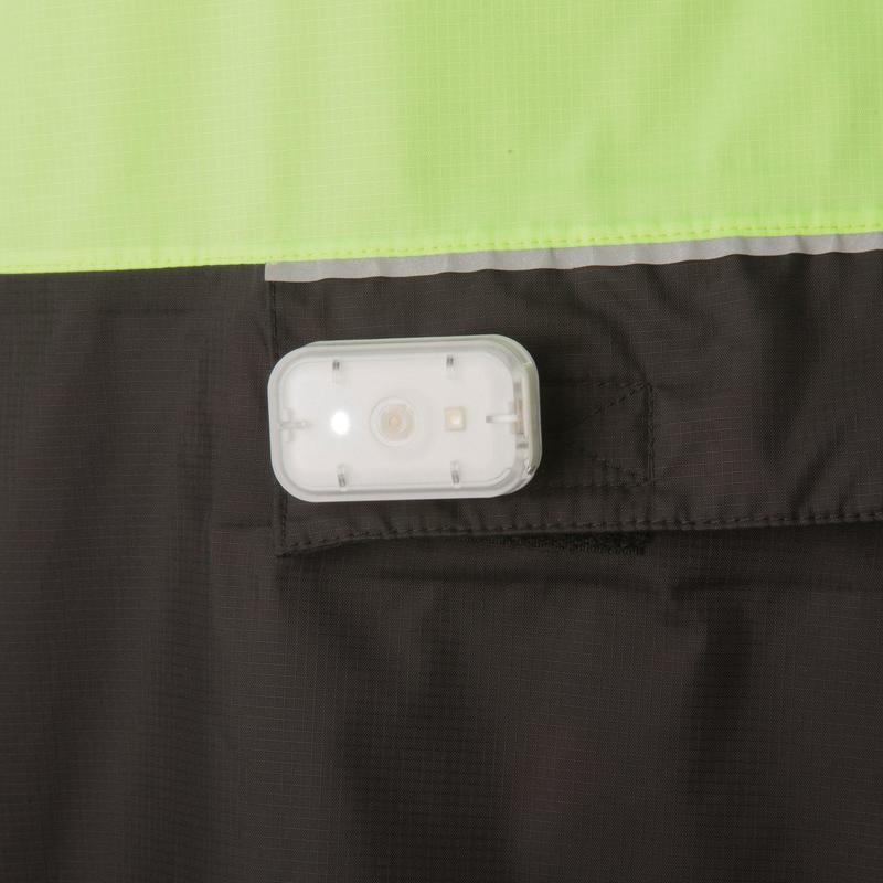 Cycling Rain Poncho 900 - Neon Yellow/Black