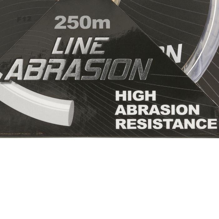 FIL DE PÊCHE LINE ABRASION GREY 250 M - 812858