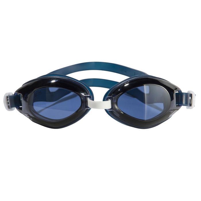 100 AMA Swimming Goggles, Size L Blue White