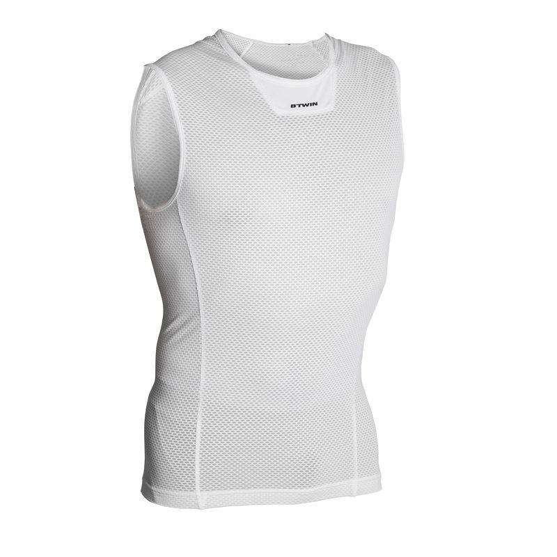 MEN WARM WEATHER ROAD BASELAYER Cycling - RC 500 Sleeveless Mesh Cycling Baselayer VAN RYSEL - Cycling