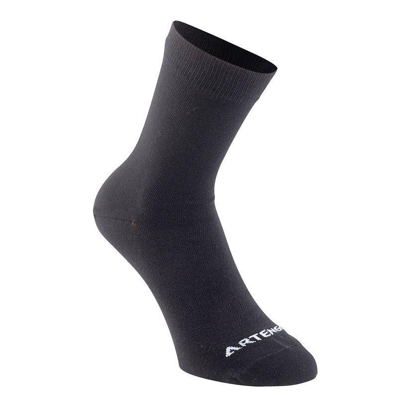 Socks Black - Adult High Tri pack