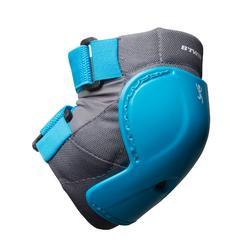 Set fietsbeschermers XXS blauw voor kinderen