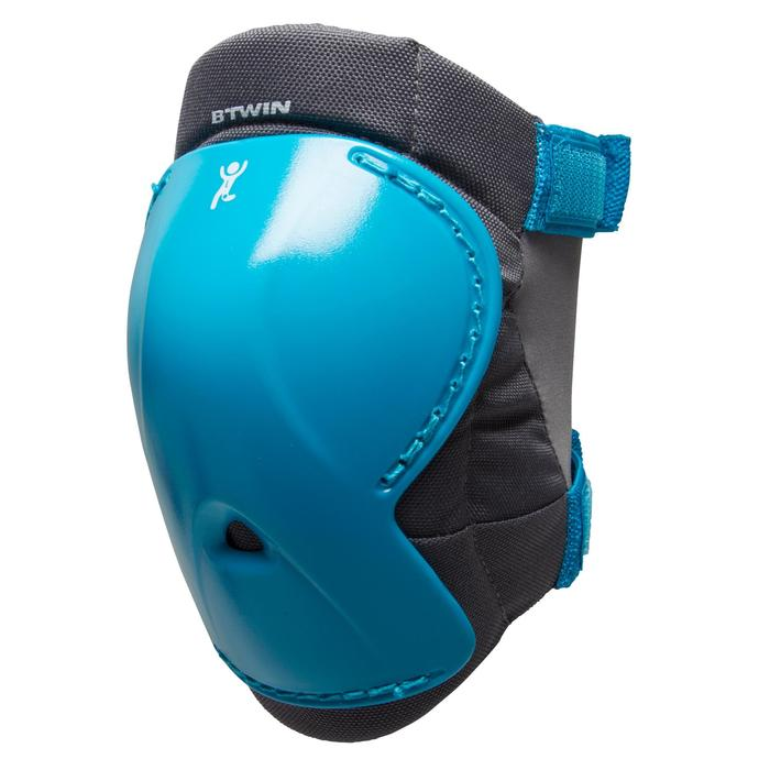 Protektoren-Set Fahrrad XXS Kinder blau