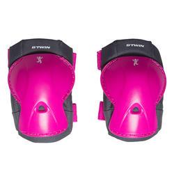 Set fietsbeschermers voor kinderen XS roze