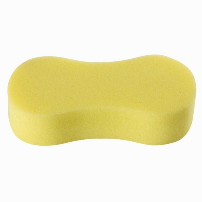 Esponja para caballos y ponis equitación modelo grande amarilla