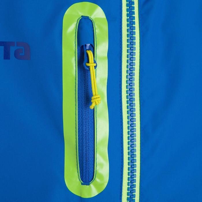 Veste imperméable de football enfant T500 bleu - 814347