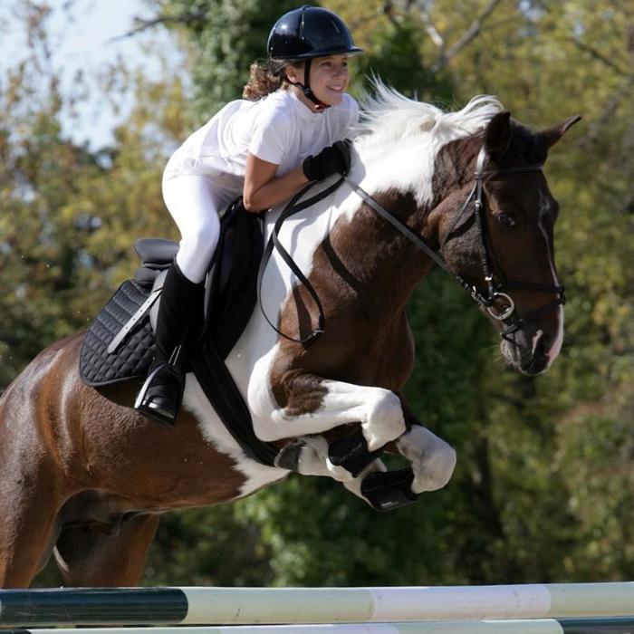 2 guêtres fermées équitation poney et cheval SOFT noir - 814402