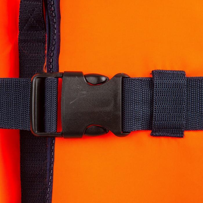 Gilet de sauvetage mousse adulte TYPHON 150N orange - 814449