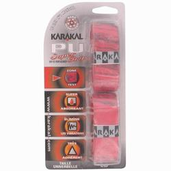 Grip de squash SUPER PU GRIP x2 Rouge