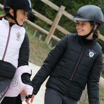 Veste équitation enfant SAFY noir - 814676