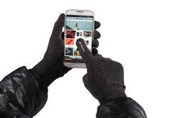 Onderhandschoenen voor trekking Forclaz 50 volwassenen zijde touch - 81948