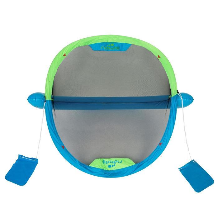 Waterpolodoel UP blauw groen