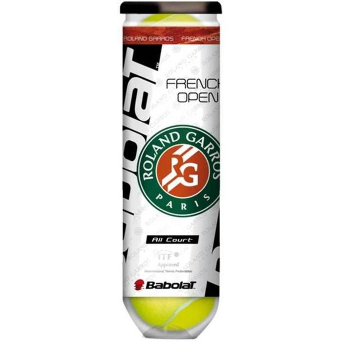 BALLES DE TENNIS FRENCH OPEN ALL COURT *4 JAUNE