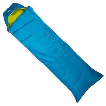 FORCLAZ 10° Hiking Sleeping Bag Blue Left Zip