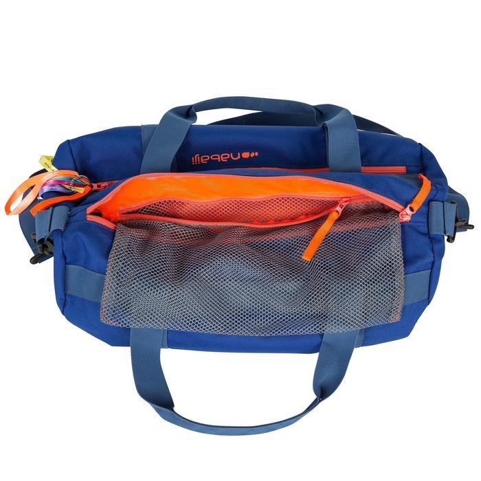 泳池包SWIMY 20 - 石榴紅/藍色